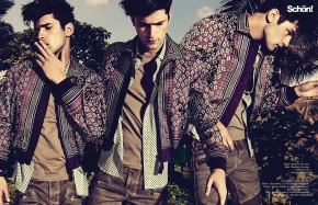 Welcome to the Fashion Jungle >>> Sean O'Pry para Schön! Magazine