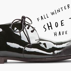 Tendencias a tus Pies >>> Selección ZapatosFW2014
